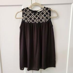Zara Basic Black and White Lace